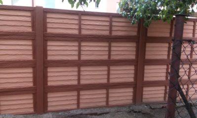 Nátěr betonového plotu
