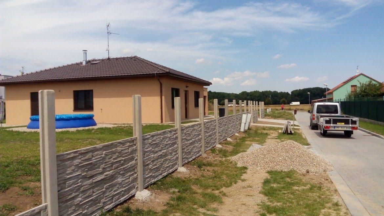Betonový plot Prostějov-01