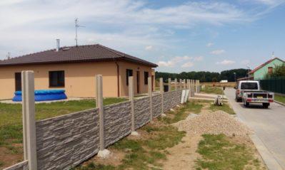 Betonový plot Prostějov