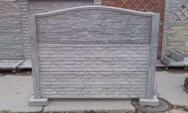Panelové betonové ploty