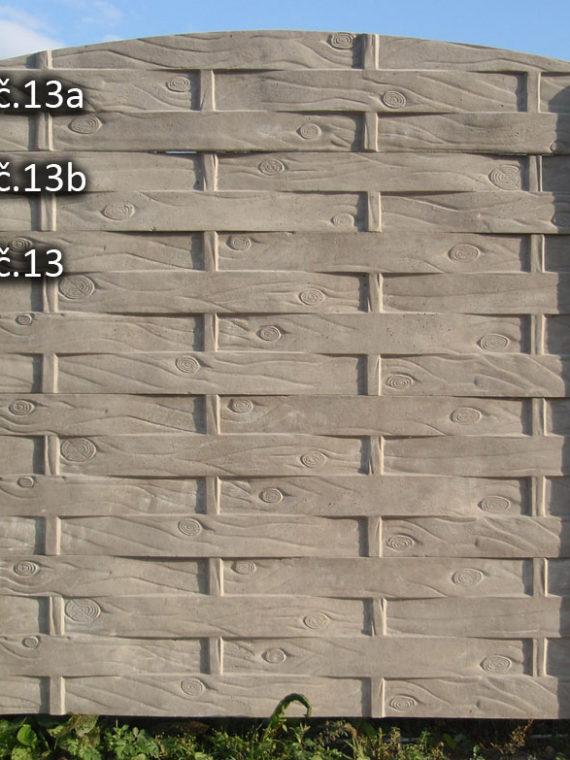 13. Proplétané dřevo