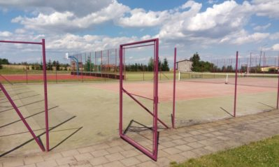 Rekonstrukce oplocení víceúčelového sportoviště