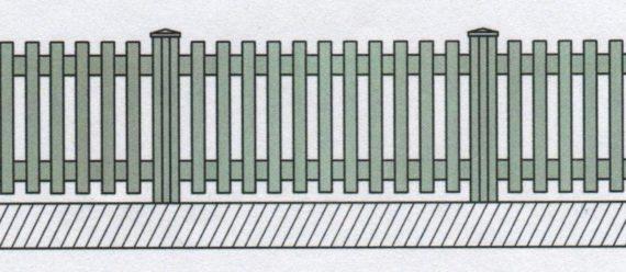 Variantní pohledové provedení plastového plotu-04