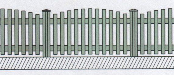 Variantní pohledové provedení plastového plotu-05