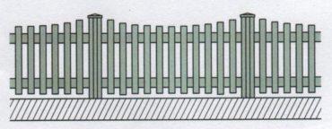 Variantní pohledové provedení plastového plotu-06