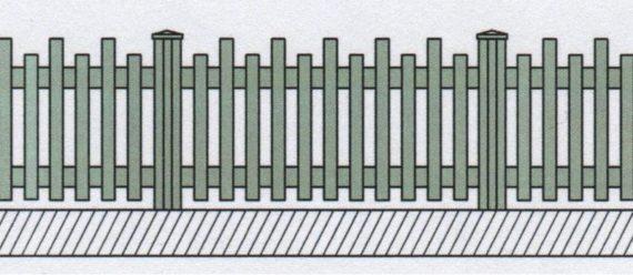 Variantní pohledové provedení plastového plotu-07