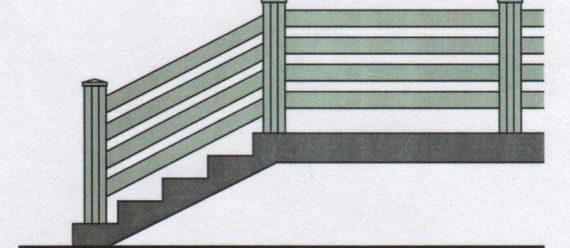 Možnost použití pro stavbu jednoduchých bezúdržbových zábradlí