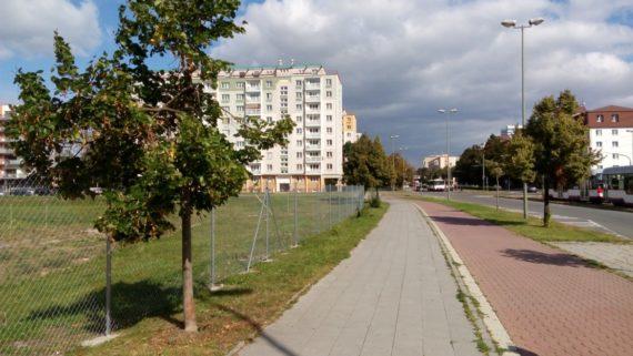 Plot z pozinkovaného pletiva – Olomouc