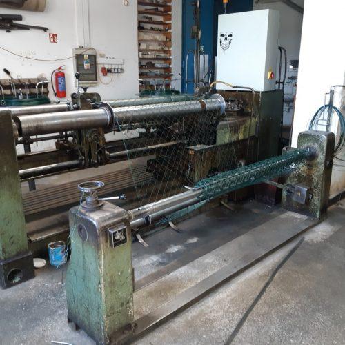 Nové strojní zařízení na výrobu pletiva